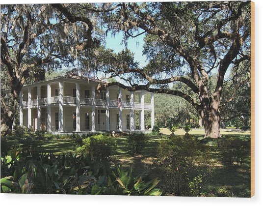 The Wesley House 1 Wood Print