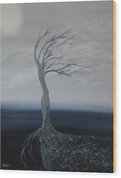 The Widow Wood Print