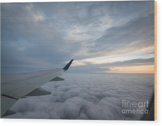 The Window Seat Wood Print