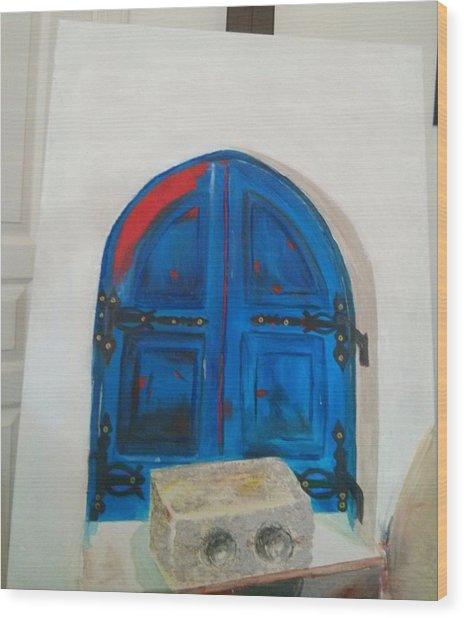 The Window Wood Print by Sulzhan Bali