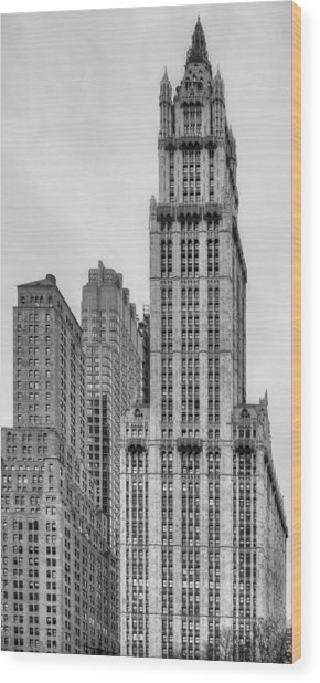 The Woolworth Downtown Wood Print by JC Findley