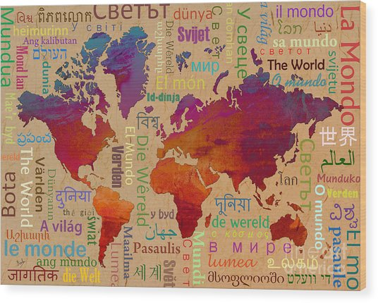 The World Wood Print