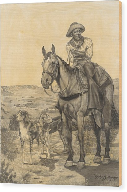 The Wrangler Wood Print
