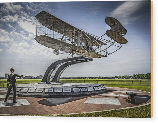 The Wright Flyer Wood Print