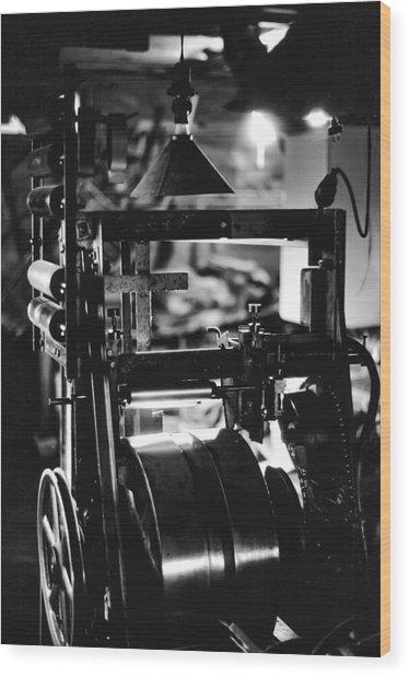 The Yardstick Press Wood Print