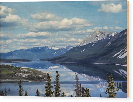 The Yukon Wood Print