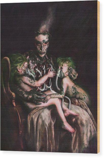 Theotokos The Usury Of God Wood Print