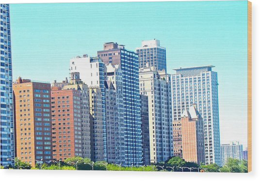 There Is No Solitude In The World Like That Of A Big City Wood Print