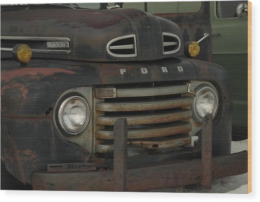There Is Nothing Like An Old Ford Wood Print