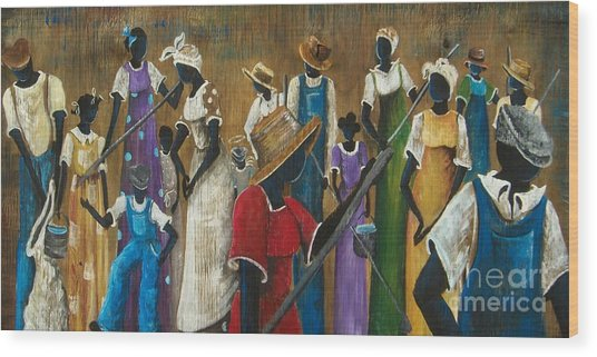 This Joy I Have Wood Print by Sonja Griffin Evans