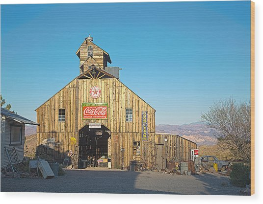 Wood Print featuring the photograph This Old Barn by James Sage