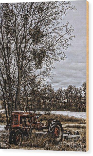 This Old Farmall - No.9669 Wood Print