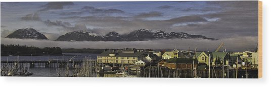 Thomas Basin Alaska Wood Print