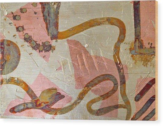 Thoughts Wood Print by Margarita Gokun