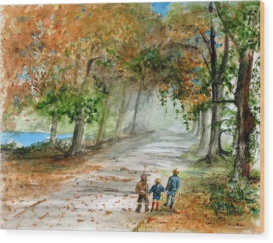 Three Brothers Wood Print by Rob Beilby