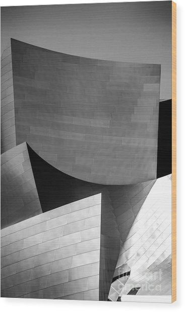 Three Points Wood Print