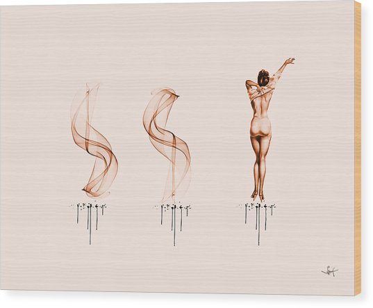 Three Stories 1959 Wood Print