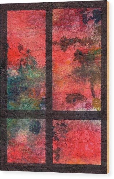 Through My Window 23 Wood Print