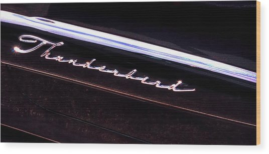 Thunderbird 14757 Wood Print