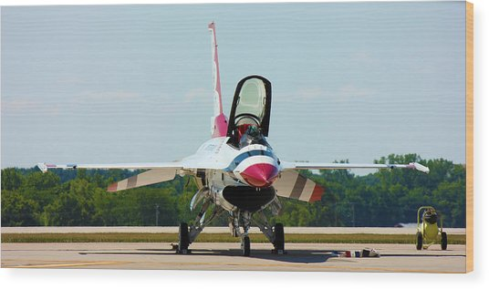 Thunderbird No1 Wood Print