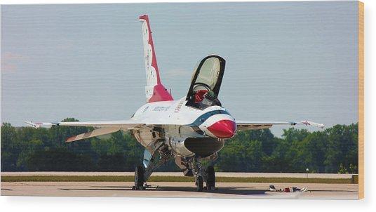 Thunderbird No2 Wood Print