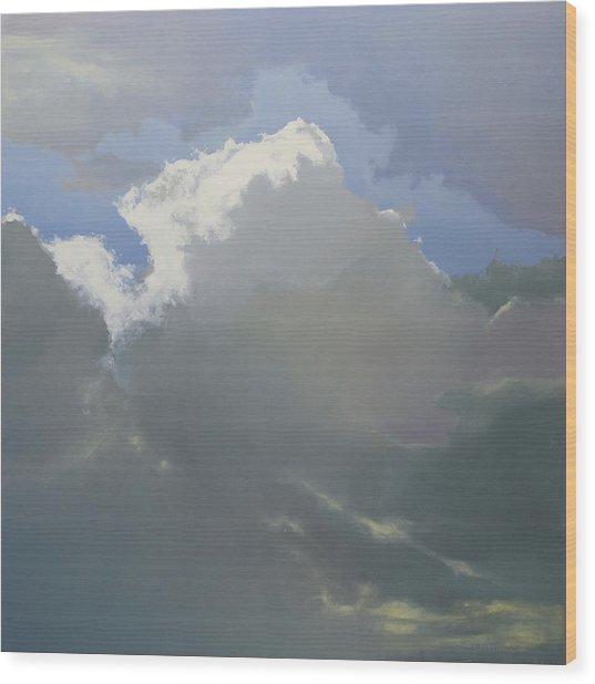 Thunderhead 2 Sold Wood Print