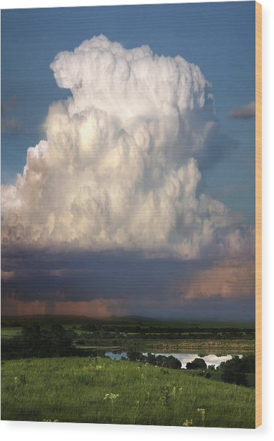 Thunderhead - Greenwood County Wood Print