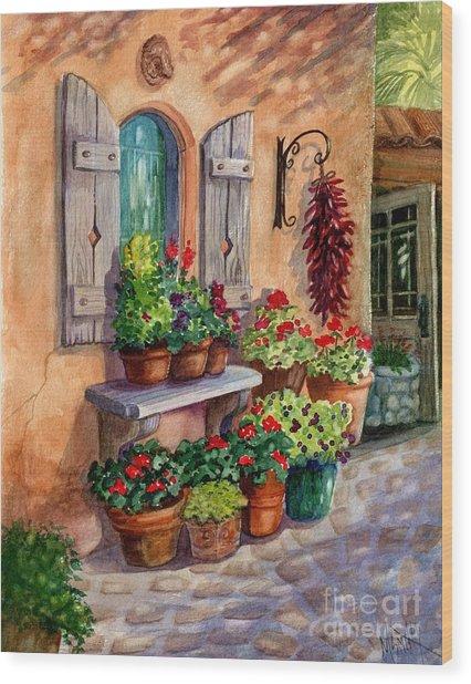 Tia Rosa's Place Wood Print