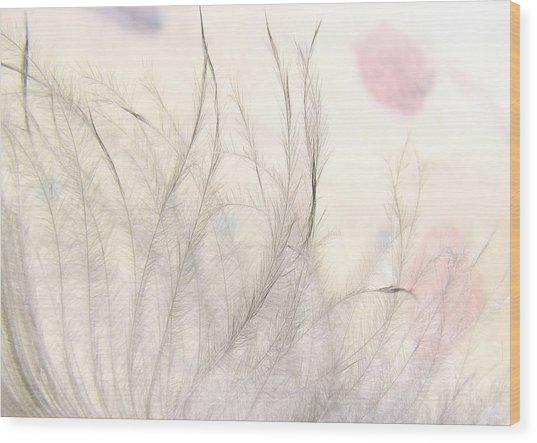 Tickles Wood Print