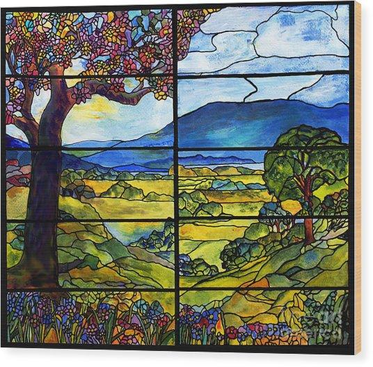 Tiffany Minnie Proctor Window Wood Print