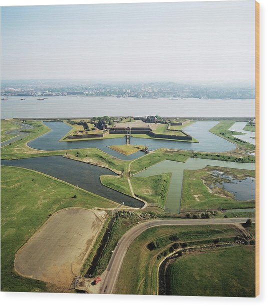 Tilbury Fort Wood Print by Skyscan/science Photo Library