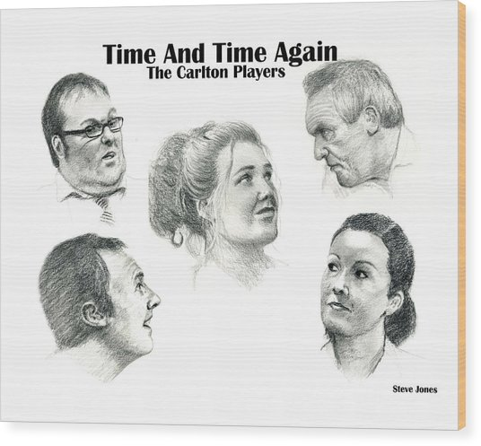 Time And Time Again Wood Print by Steve Jones