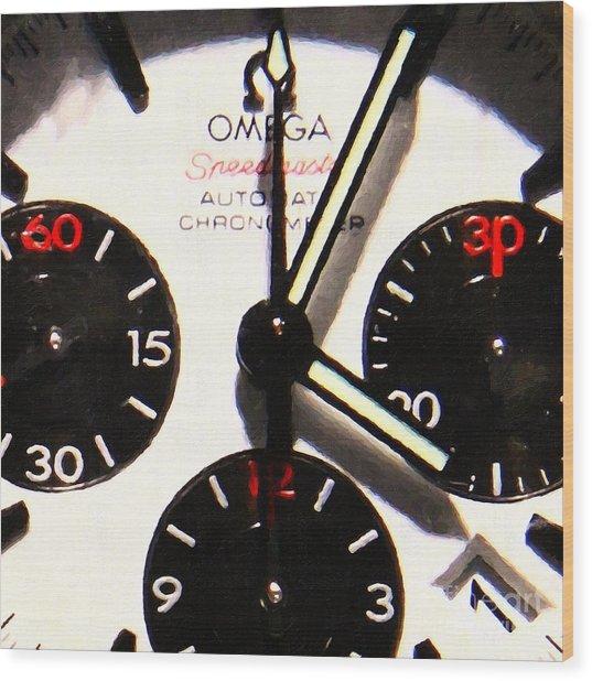 Time Piece - 5d20658 Wood Print