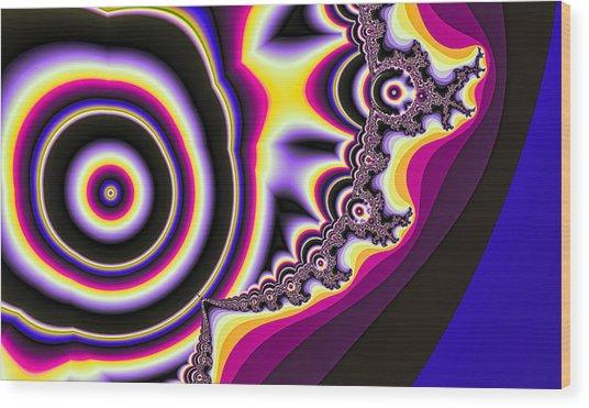 Time Warp Wood Print