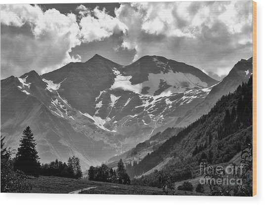 Tirol  The Land Of Enchantment Wood Print