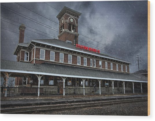 Titletown Brewing Co Wood Print by Thomas Zimmerman