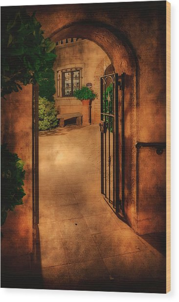 Tlaquepaque Wood Print