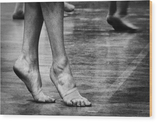 To Dance Wood Print