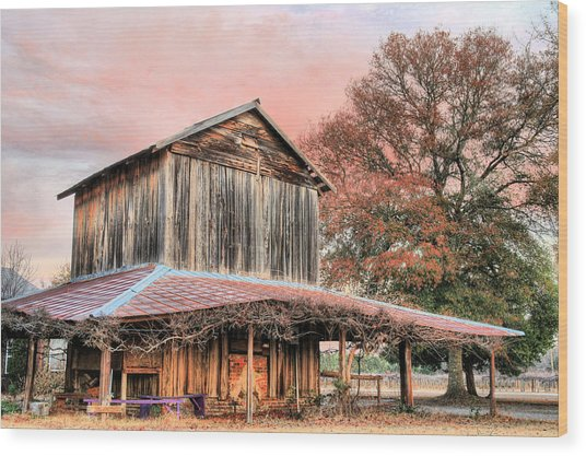 Tobacco Road Wood Print