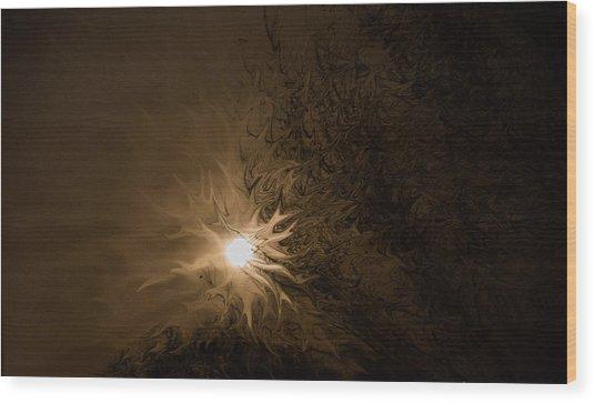Tonight's Moon Wood Print