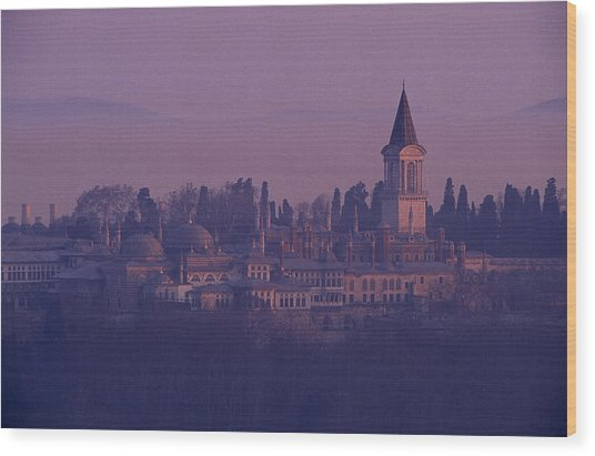 Topkapi Wood Print