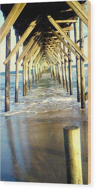 Topsail Retreat Wood Print