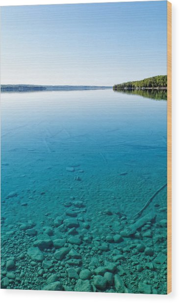Torch Lake Wood Print