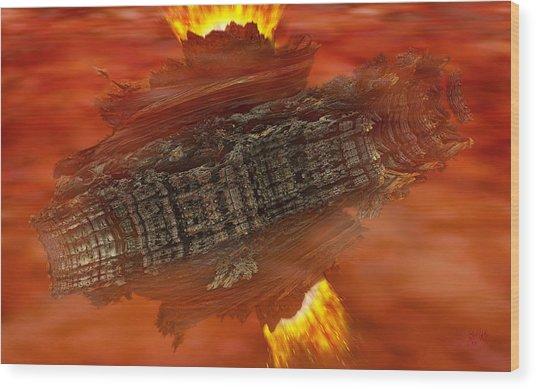 Toroid Wood Print
