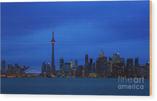 Toronto Blues... Wood Print