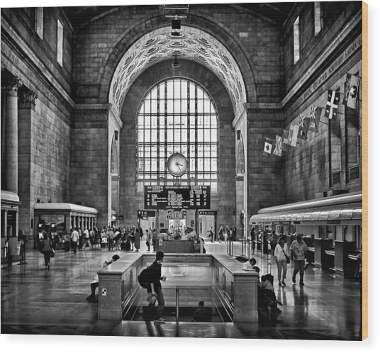 Toronto Union Station 323pm Wood Print