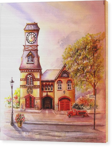 Toronto's Old Yorkville Fire Hall Wood Print