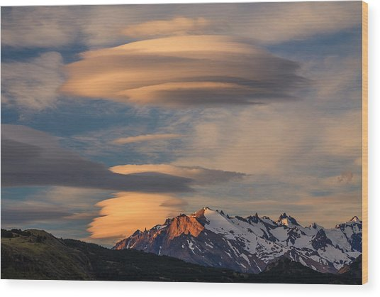 Torres Del Paine National Park, Chile Wood Print by Art Wolfe