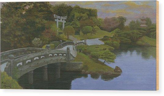 Torii Gate - Shinto Shrine Wood Print