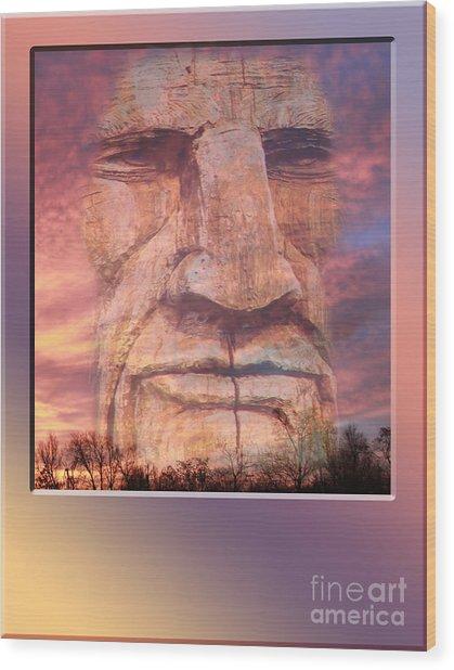 Totum Sunrise Wood Print